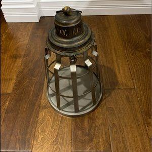 Farmhouse lantern candle holder